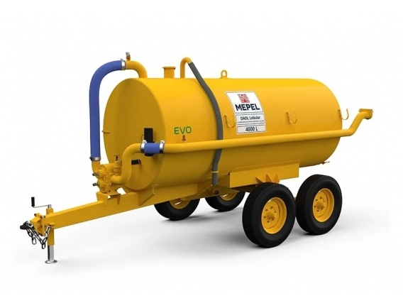 Distribuidor de fertilizantes orgánicos 4000 Lobular Tandem Mepel