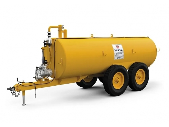 Distribuidor de fertilizantes orgánicos 6000 Vacuum Mepel