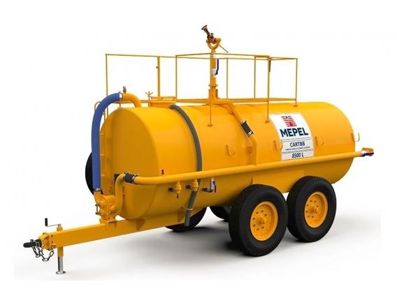 Camión de combate contra incendios Mepel 8500 Eje tándem
