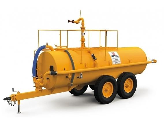 Camión de extinción de incendios Mepel 6500 Eje tándem