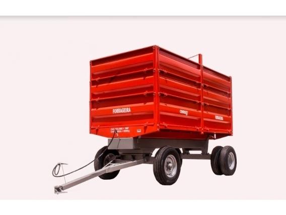Carro forrajero trailer Cemag CBHM10000