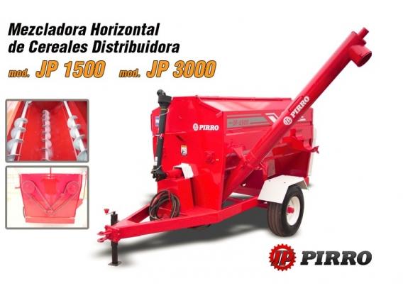 Carro mezclador de cereales Pirro JP 1500