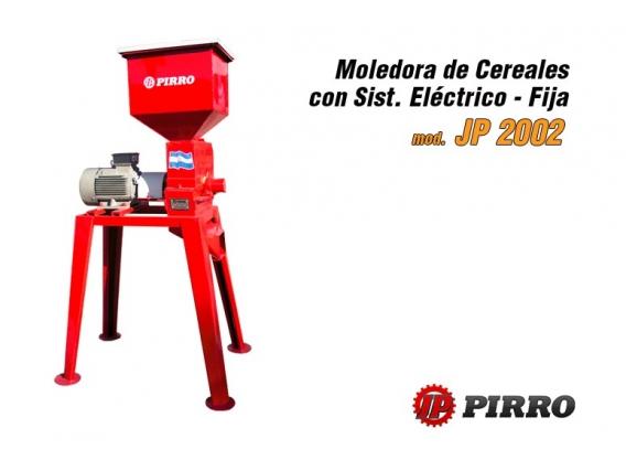 Moledora de cereales eléctrica fija Pirro JP 2002