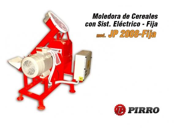 Moledora de cereales eléctrica fija Pirro JP 2008
