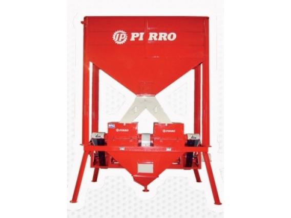 Moledora de cereales eléctrica fija Pirro JP 2008E combinada