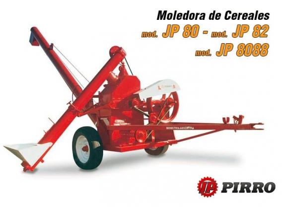 Moledora de cereales transportable Pirro JP 80