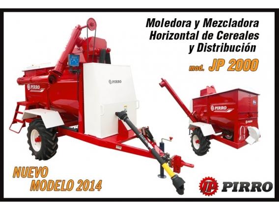 Moledora y mezcladora Pirro JP 2000