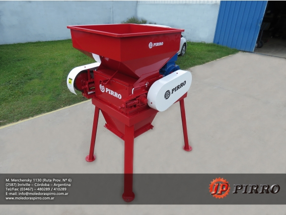 Quebradora eléctrica fija Pirro JP 1600E combinada