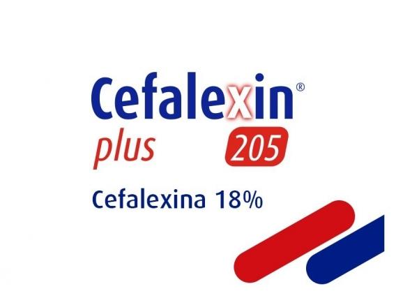 Antibiótico Cefalexin Plus 205