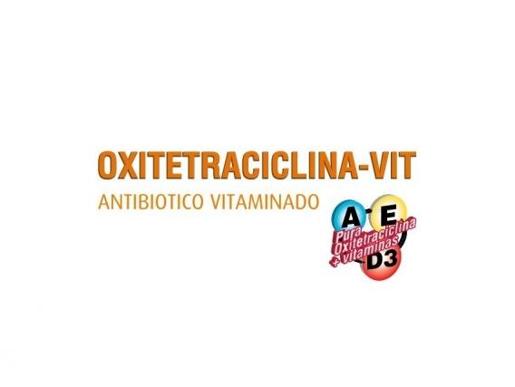 Antibiótico Oxitetraciclina -Vit
