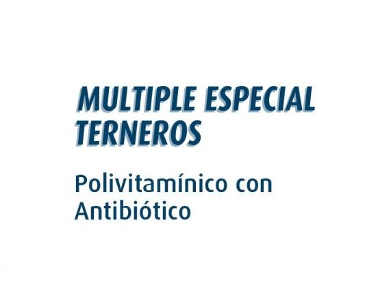 Antibiótico Polivitaminico Múltiple Especial Terneros