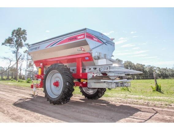 Fertilizadora De Arrastre Fertec Fertil 7500 Serie 5