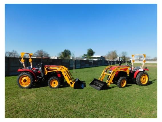 OM-180-F Pala Frontal 1/4M3 P/tractores De 20 A 40Hp