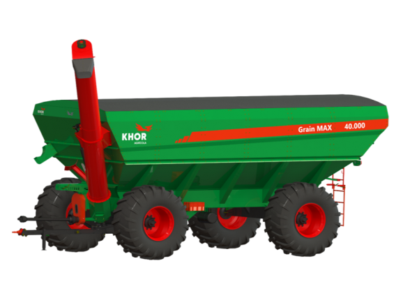 Tolva Kuhn Khor Grain Max 40000