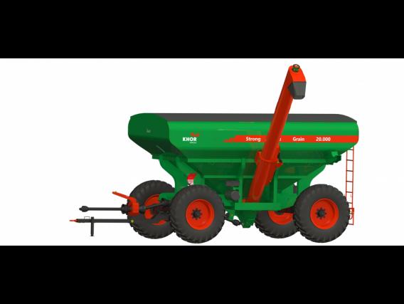 Tolva Kuhn Khor Strong Line Multi Grain 20000